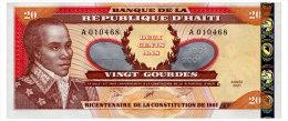 HAITI 20 GOURDES 2001 Pick 271A Unc - Haiti