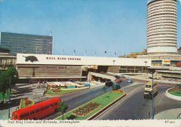 BIRMINGHAM - First Bull Ring Centre & Rotunda. Birmingham City Transport Bus - Birmingham
