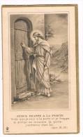 Souvenir De La Communion Solennelle, Jeanne MINNE, Genappe 1934 - 2 Scans - Images Religieuses