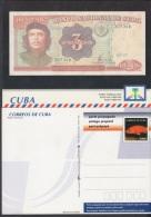 1999-EP-71 CUBA 1999. Ed. ENTERO POSTAL. POSTAL STATIONERY. ERNESTO CHE GUEVARA. UNUSED. - Storia Postale