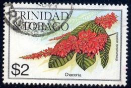 Flower, Chaconia, Trinidad & Tobago Stamp SC#404 Used - Trinité & Tobago (1962-...)