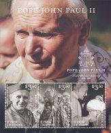 ST.VINCENT  IGPC # 1505 SH ; MINT N H STAMPS OF POPE JOHN PAUL II  OP - St.-Vincent En De Grenadines