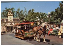 888) Horse Ride At Disneyland - Disneyland