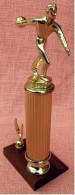 Kegel-Pokal  -  Ca. 28 Cm Länge  -  Von Ca. 1975 - Vereinswesen