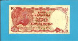 INDONESIA - 100 Rupiah - 1984 - P 122.a - Série VTG - 2 Scans - Indonésie
