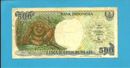 INDONESIA - 500 Rupiah - 1992 / 1993 - P 128.b - Série DGD - 2 Scans - Indonesia