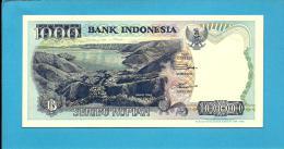 INDONESIA - 1000 Rupiah - 1992 / 1999 - P 129.h - UNC. - Série  YEZ - 2 Scans - Indonésie