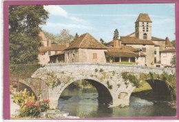 24.- SAINT-JEAN De CÔTE .- Le Pont Gothique ( Carte Toilée ) - Frankreich