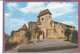 24.- SOURZAC .- L' Eglise Romane  ( Carte Toilée ) - Frankreich