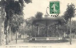 RHONE ALPES - 42 - LOIRE - ROANNE - Les Promenades - Kiosque à Musique - Roanne