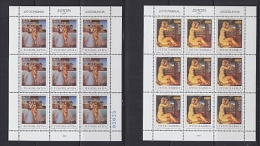 Europa Cept 1993 Yugoslavia 2v Sheetlets** Mnh (F3810) - Europa-CEPT
