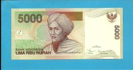 INDONESIA - 5000 Rupiah - 2001 / 2004 - P 142.d - UNC. - Série IKE - 2 Scans - Indonésie