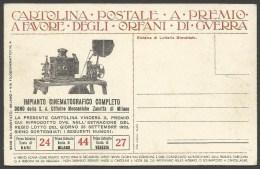 Cartolina - Lotteria Impianto Cinematografico Zanotta - Cinema