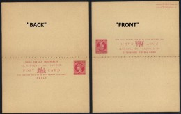 SAINT VINCENT - QV / ENTIER POSTAL DOUBLE - REPONSE PAYEE (ref 6487) - St.Vincent (...-1979)