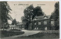 CPA 91  YERRES LES CAMALDULES 1914 - Yerres