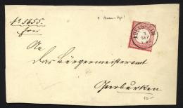 D.R,Baden-o,Adelsheim Auf Briefstück  (8690) - Deutschland