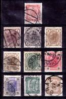 Austria-F-0017 -1905 - Valori (senza Linee Brillanti) Della Serie, Unificato: N.81/I-94/I(o) - Privi Di Difetti Occulti. - 1850-1918 Empire