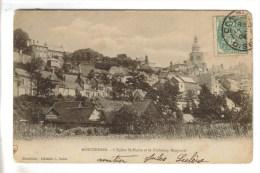 CPA PIONNIERE MONTDIDIER (Somme) - L'église Saint Pierre Et Le Faubourg Becquerel - Montdidier