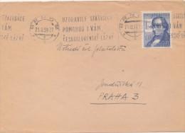 J3091 - Czechoslovakia (1959) Brno 2 (I): They rallied hundreds of thousands; i will help you; Czechoslovak spas