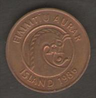 ISLANDA 50 AURAR 1986 - Islanda