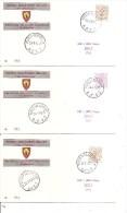 Belgique -Postes Militaires En RFA -BPS( Lot De 16 Documents Commémoratifs Différents BPS à Voir) - Military (M Stamps)