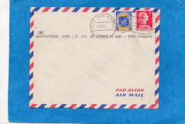 MARCOPHILIE-Lettre Avion Aft 20frs - Guerre D'Algérie*cad Poste Aux Armées 4 Nov 1957-au Manuscrit SP  88405 - Marcophilie (Lettres)