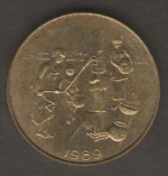 ETATS DE L´AFRIQUE DEL´OVEST 10 FRANCS 1989 - Monete