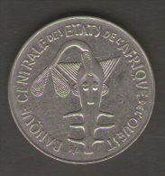 ETATS DE L´AFRIQUE DEL´OVEST 100 FRANCS 1987 - Monete