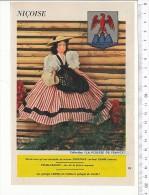 Niçoise / Collection Poupée De France / Costume Folklore Blason Nice  // VP 146/4 - Vieux Papiers