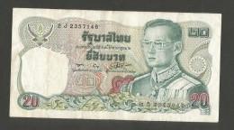 THAILAND - 20 BAHT (1981) - Tailandia