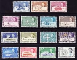 Britische Gebiete In Antarktis  1963 Mi.#1-15** - Territoire Antarctique Britannique  (BAT)
