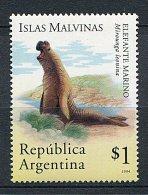 (cl. 8 - P5) Argentine ** N° 1852 (ref. Michel Au Dos) - Elephant De Mer - - Neufs