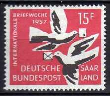 Saarland 1957 Mi 408 ** [020715XIII] - Ungebraucht