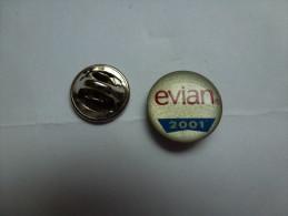 Eau Minérale Evian , 2001 - Boissons