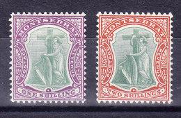 Montserrat 1903 SG.#20* + SG.#21 * - Montserrat