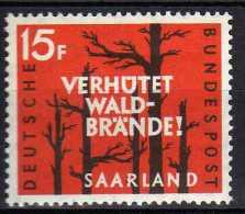 Saarland 1958 Mi 431 ** [020715XIII] - Ungebraucht