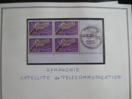 PREMIER JOUR SYMPHONIE SATELLITE DE TELECOMMUNICATIONS - VOIR PHOTOS - Covers & Documents