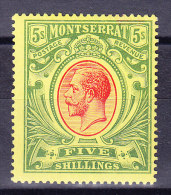 Montserrat 1914 SG.#48 ** - Montserrat