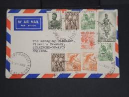 Papouasie-Nouvelle-Guinée - Enveloppe De Port Moresby Pour Stratford En 1961 - Aff.plaisant - à Voir - Lot P7352 - Papouasie-Nouvelle-Guinée