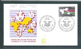 Envelloppe  Premier Jour Du  N°2412  12/4/1986 - Documents Of Postal Services