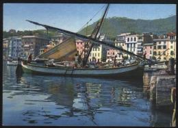 S.Margherita Ligure-Riflessi Nel Porto-fishing Boats-unused,perfect Shape - Genova (Genoa)