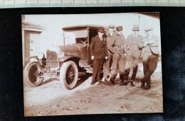 Photo, Petit Format D´amateur, Beau Plan De Voiture  A Identifier , 1927, - Photos