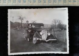 Photo, Petit Format D´amateur, Beau Plan De Voiture  A Identifier , 1936, - Photos