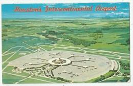 HOUSTON'S  Intercontinental Aiport -  Aéroport - USA - Houston