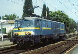 RU 1478 - Loco BB 1501 SNCB En Gare - AULNOYE - 59 Nord - Matériel