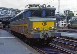 RU 1479 - Loco CC 1802 SNCB En Gare - PARIS NORD - 75 - Matériel