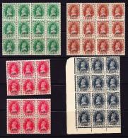 Indien 1941 JIND SG.#127-130 (X12) - Inde (...-1947)