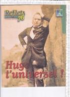 REFLETS  76  -   HUGO  L UNIVERSEL !  -   Spécial   Victor Hugo - Biographies & Mémoires