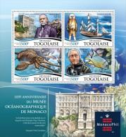 TOGO 2015 -  Oceanographic Museum, Diving Dress. Official issue