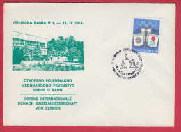 176691  / 1973 - Chess Échecs Schach - OFFENE INTERNATIONALE SCHACH EINZELMEISTERSCHAFT VON SERBIEN Yugoslavia - Schaken